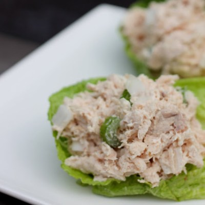 Rotiserrie Chicken Salad Lettuce Wraps