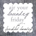 freckled laundry