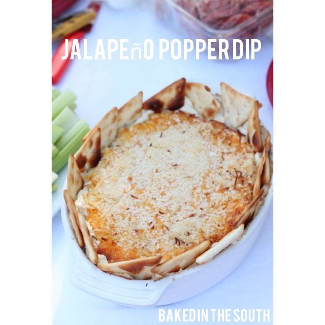 Spicy Jalepeno Popper Dip