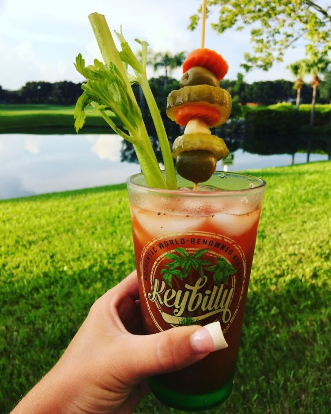 Rebel Yell Bloody Mary
