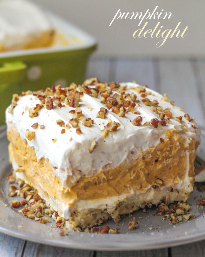 15 Pumpkin Dessert Ideas