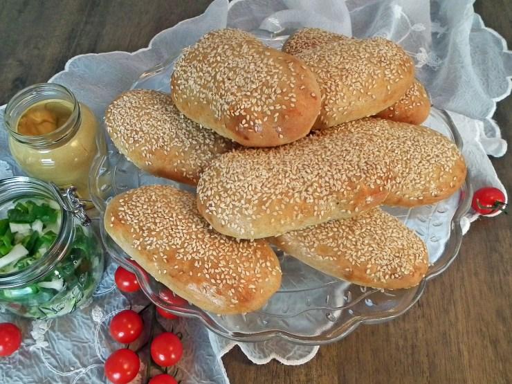 pølsebrød_hamburgerbrød_bakemagi_4