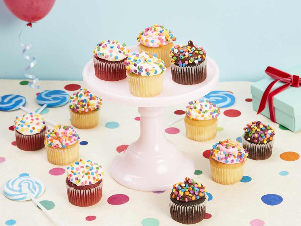 Bake Me A Wish! Mini Birthday Cupcakes Delivery