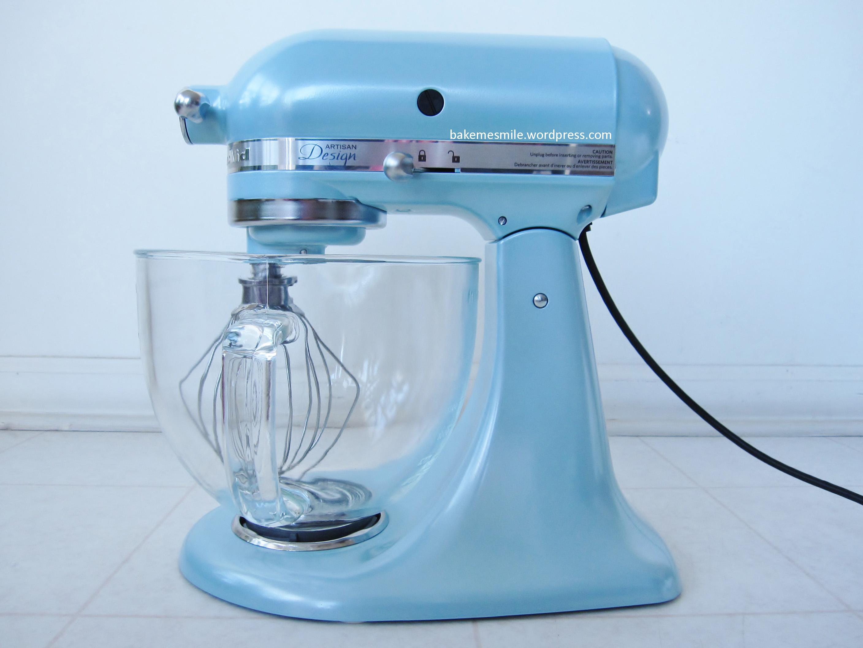 KitchenAid Stand Mixer Azure Blue Bake Me Smile
