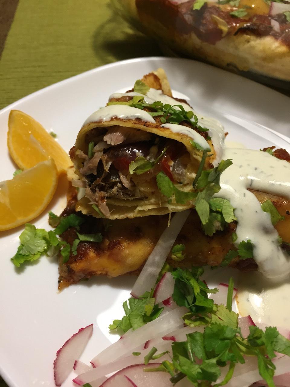 Enchiladas, një gatim meksikan që duhet provuar.