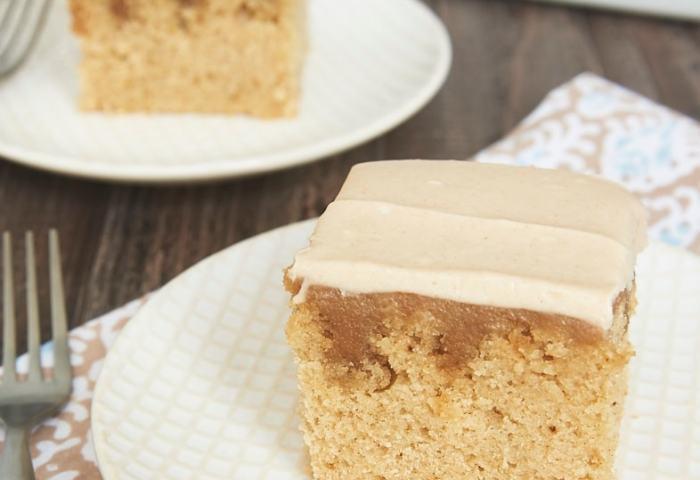 Butterscotch Spice Poke Cake Bake Or Break