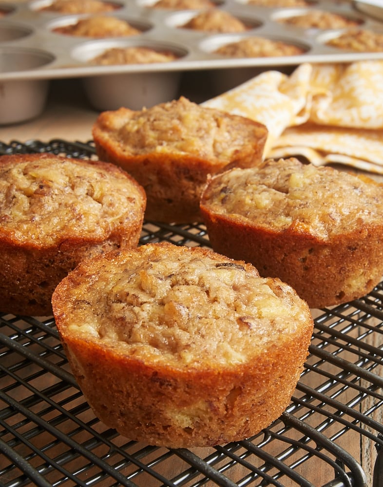 Pineapple Coconut Banana Nut Muffins