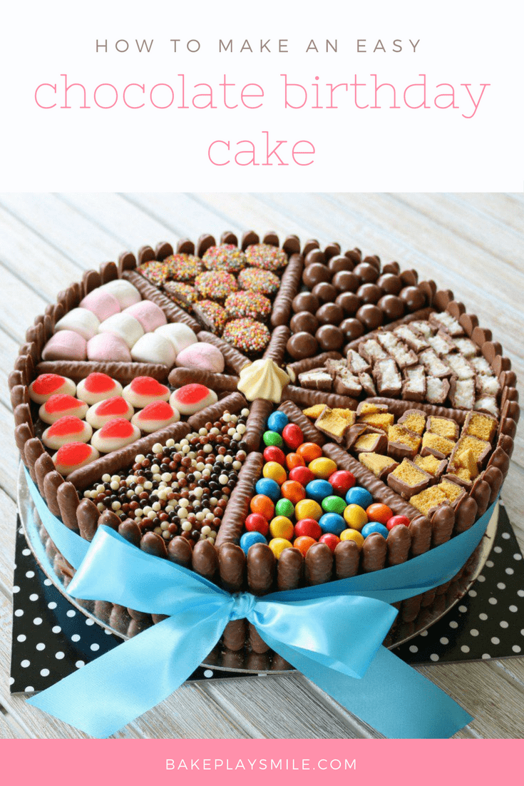 Healthy Baby Birthday Cake