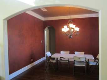 Dining Room Before - Allen Interior Designer
