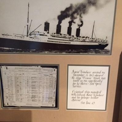 ship immigrant winery dallas history