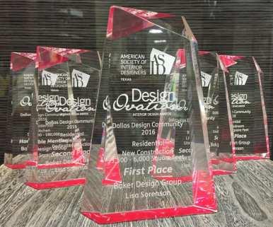 dallas interior designer top best award