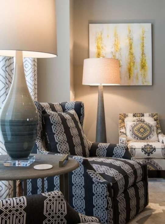 Frisco interior design family home living space
