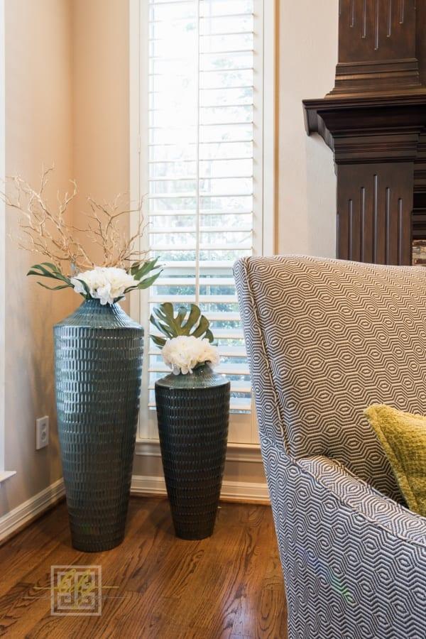 dallas interior design custom floral