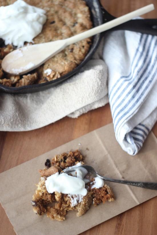 Raisin griddle cookies recipe
