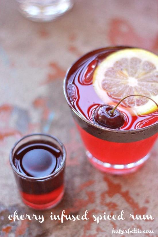 Cherry Infused Rum