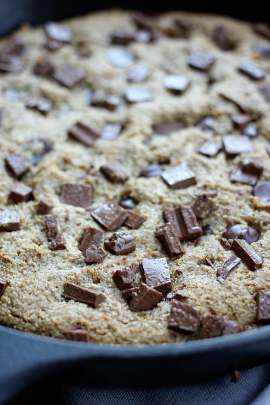 Wheat Free Vegan Cookie Recipe: Skillet Cookie- Baker Bettie