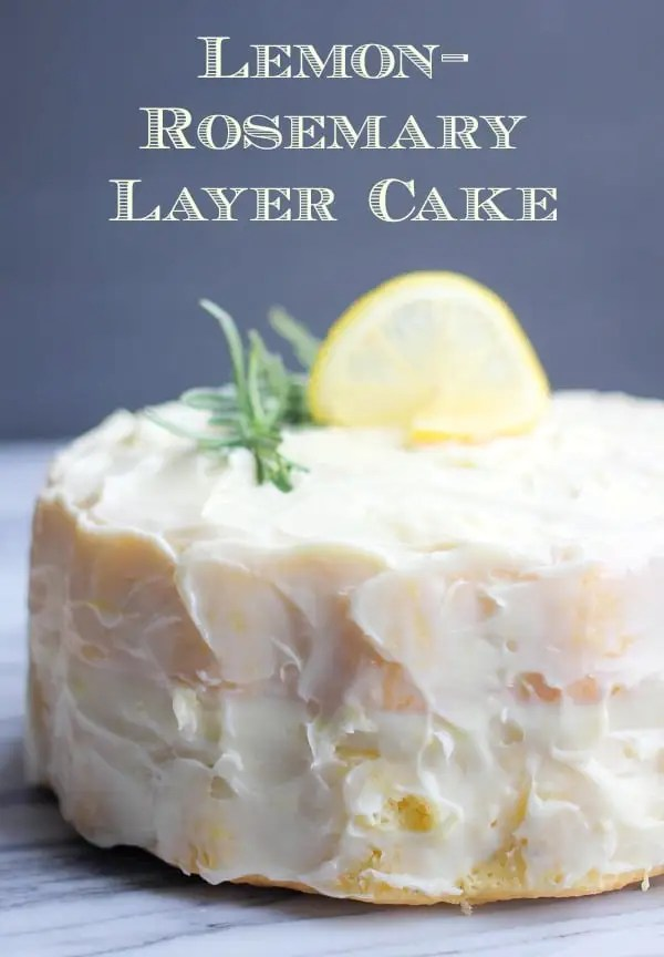 Lemon Rosemary Cake Cooking Light