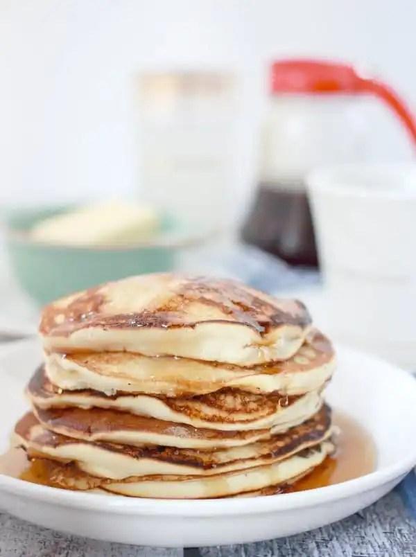 no-baking-powder-pancakes