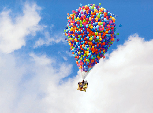 up balloon