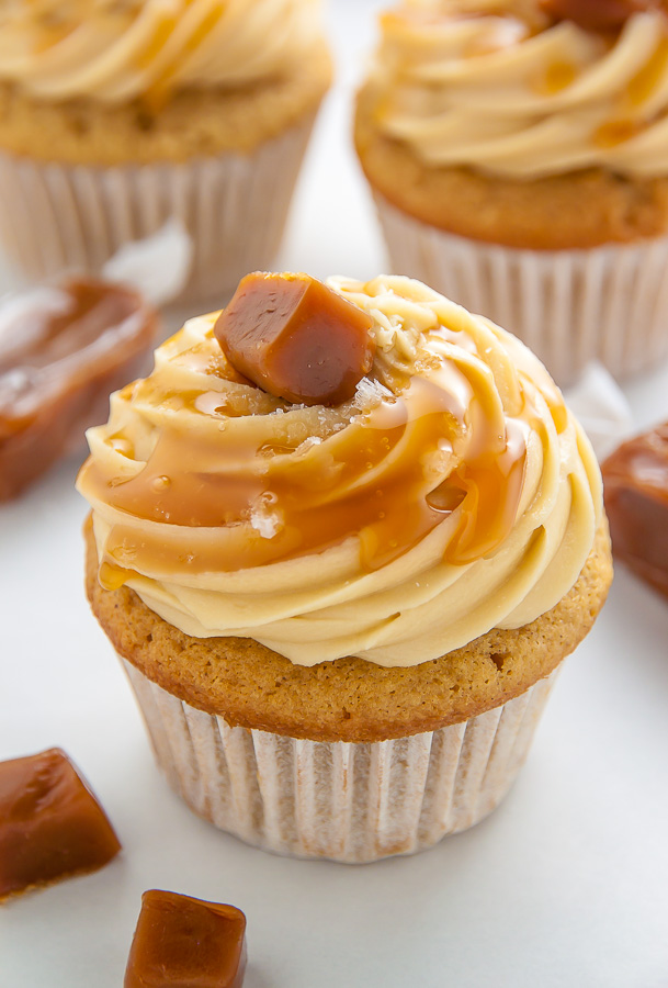 Image result for caramel cupcake