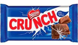 Nome para empresa com onomatopeia. Exemplo: chocolate Crunch