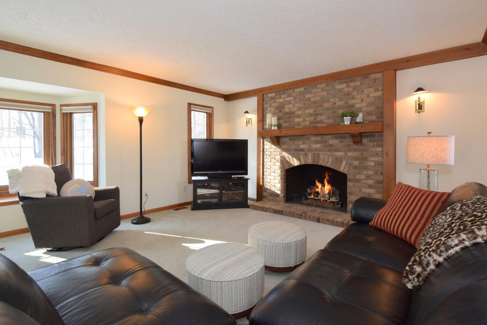 Masonry Gas Fireplace
