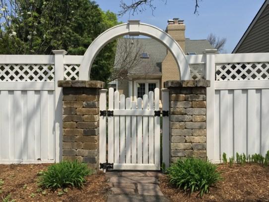 Rear Yard Gate