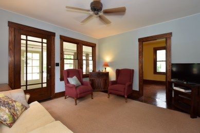 Entry from Enclosed Porch