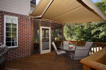 Deck with Awning