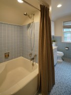 Square Tub with Seat