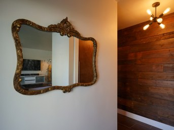 Foyer with Barn Wood