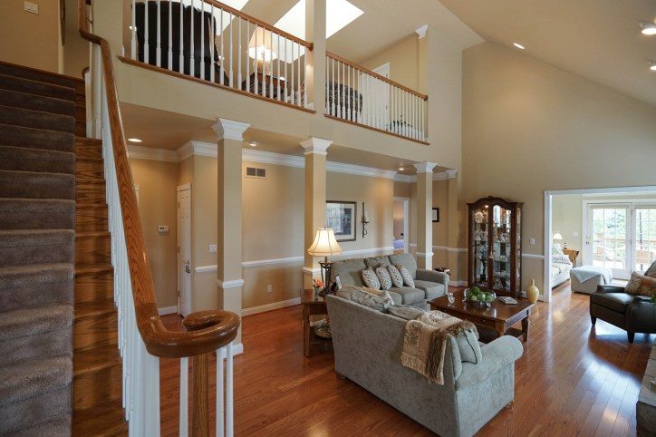 Vaulted Ceiling over Great Room