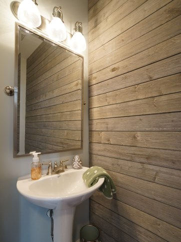 Powder Room with Ship Lap