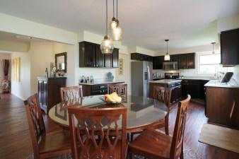 Open Kitchen and Breakfast Area
