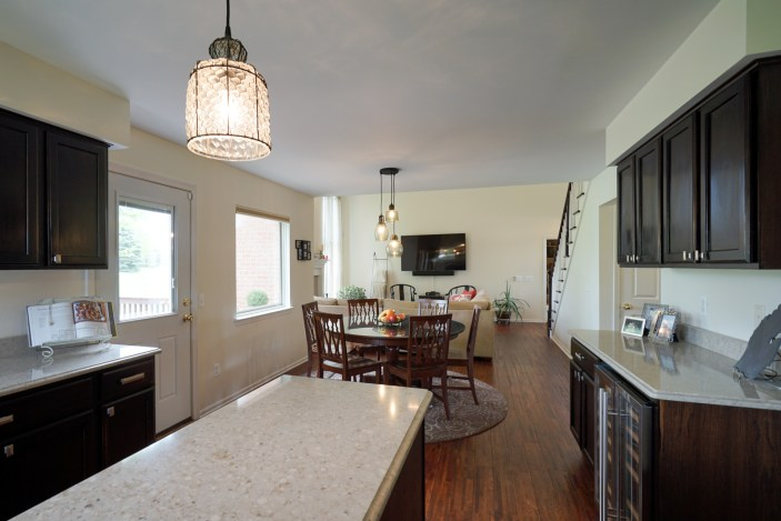Sightlines from Kitchen