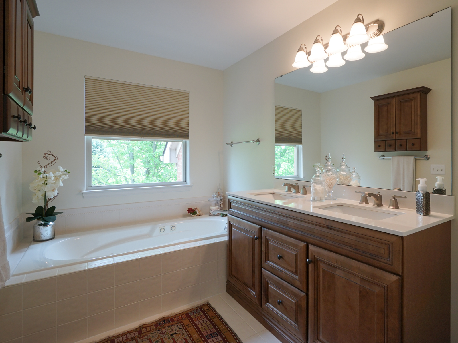 Master Bath with Tub and Shower