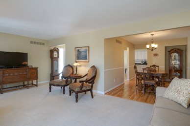 Family Room opens to Dining Room