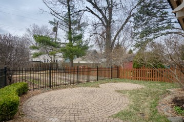 Patio and Fenced Rear Yard