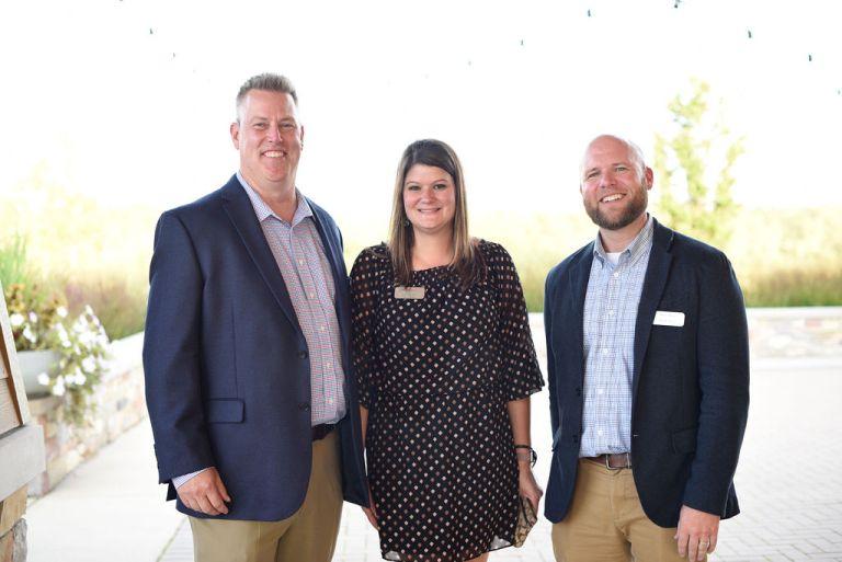 Ryan, Melissa, and Steve