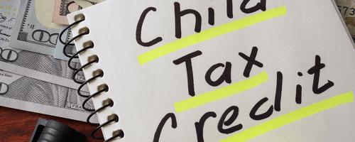 child tax credit underlined