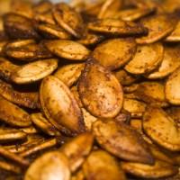 The Best Roasted Pumpkin Seeds Ever
