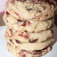 Disneyland's White Chocolate Raspberry Cookie