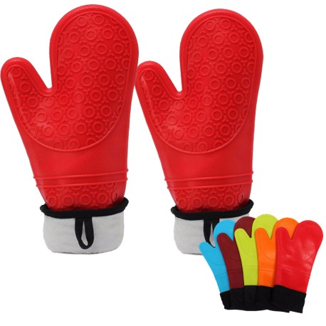 Silicone Baking Gloves, Silicone BBQ Gloves, Silicone oven gloves with fingers