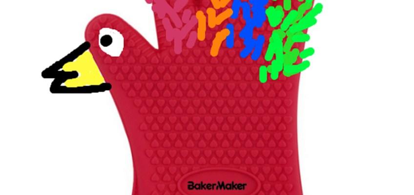 Silicone Oven Glove, Silicone Glove