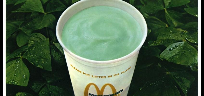 McDonald's, Shamrock Shake, Shamrock, Shake, St. Patrick's Day