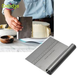 Stainless Steel Dough Scraper