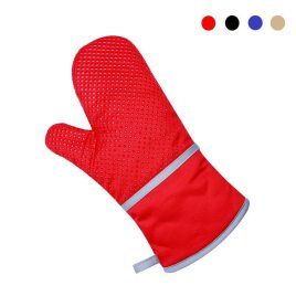 1Pcs Non-slip Anti Scald Heat Resistant Baking Gloves