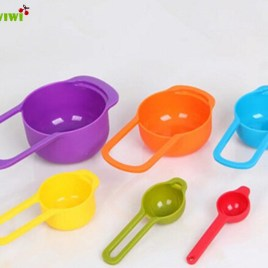 6pc Kitchen Measuring Cups