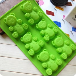 Teddy Bear Fondant Mold