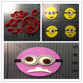 Minion Despicable Me Cookie Cutter Set